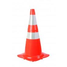Cone Flexível - NBR 15071 - Faixa Adesivada