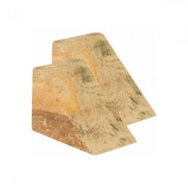 Calço de Madeira 15cm x 15cm x 20cm - Par