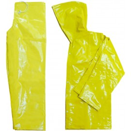 Conjunto (Jaqueta + Calça) PVC Forrado Amarelo