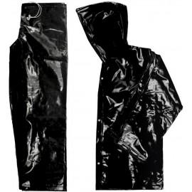 Conjunto (Jaqueta + Calça) PVC Forrado Preto