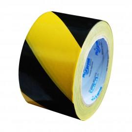 Fita Zebrada - Preto / Amarela