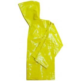 Jaqueta de PVC - Forrado - Amarelo