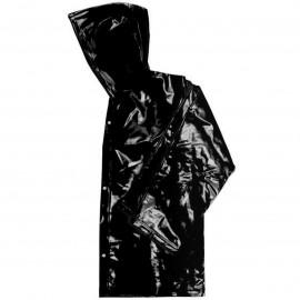 Jaqueta de PVC - Forrado - Preto